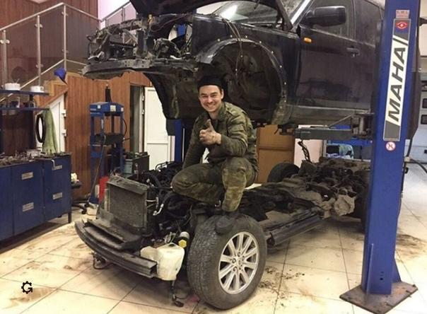 Обычный ремонт в Land Rover