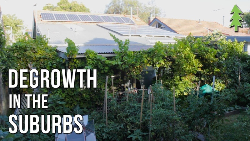 Sustainable City Living on 110th of an Acre - Degrowth in the Suburbs