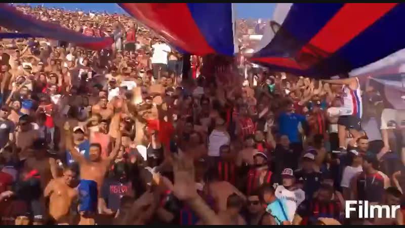 Перфоманс болельщиков Амкара