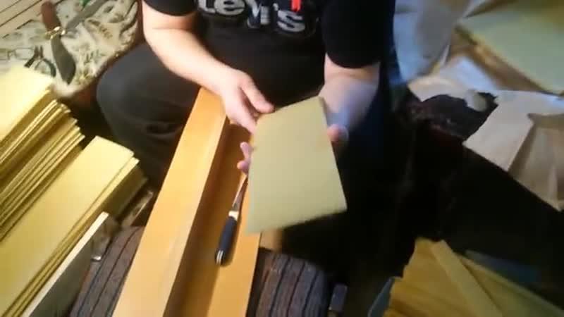 Кондуктор для резки вощины мед