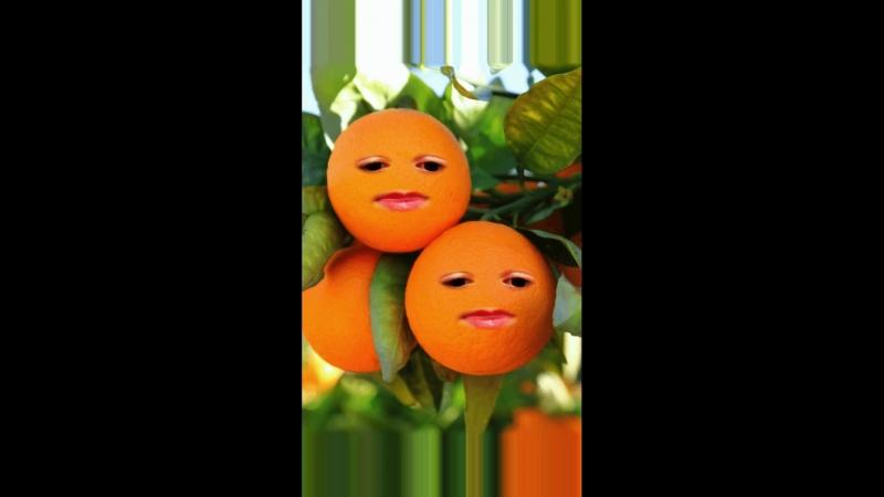 Интересная мандаринка
