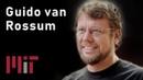 MIT AI Python Guido van Rossum