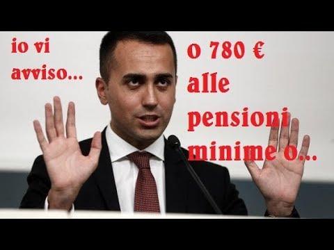 Categorico..ultime notizie. Di Maio: non ci saranno assegni sotto i 780 euro.