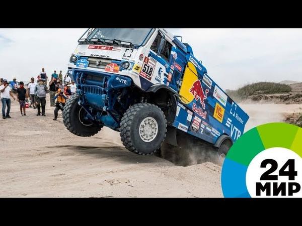 Экипаж Каргинова дисквалифицировали на «Дакаре» после наезда на зрителя - МИР 24