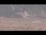 Хуситы обстреливают позиции армии Хади из ЗУ-23 в районе Кхааб ва Аш-Шааф, Джауф.