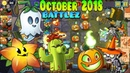 Plants vs Zombies 2 BATTLEZ October 2018 Lawn of Doom BATTLEZ Ep 382