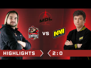 Team Empire vs Natus Vincere Highlights