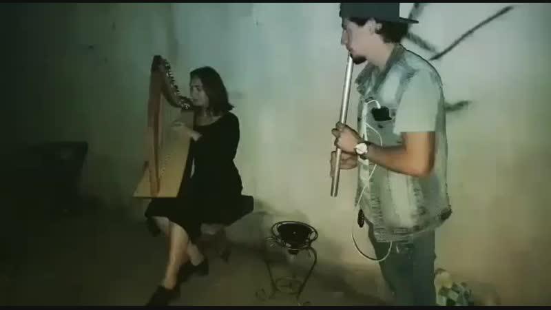 Играет группа Эхо Земли В подземельях нашего города