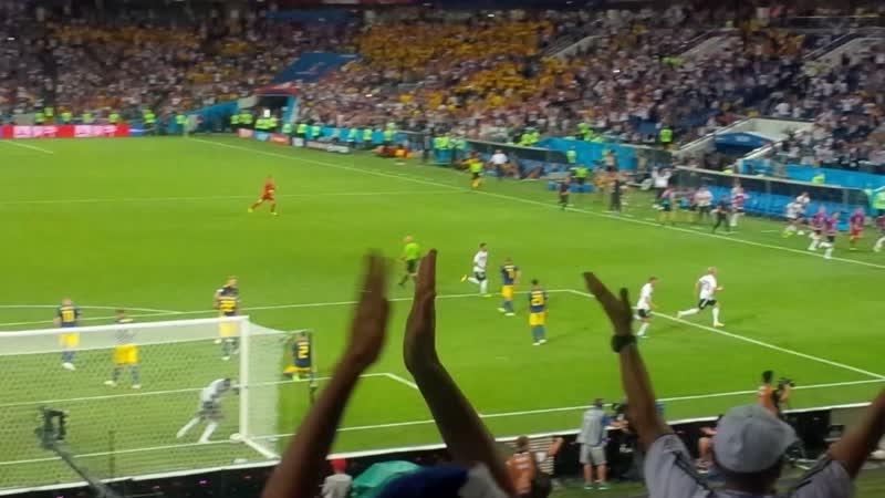 ЧМ Германия - Швеция - 2:1. 905-я минута. Гол Тони Крооса