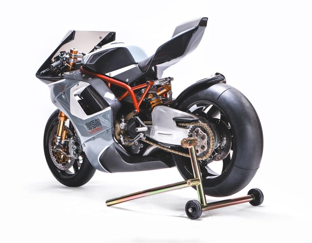 Уолт Сигел: кастом Ducati SBK #1