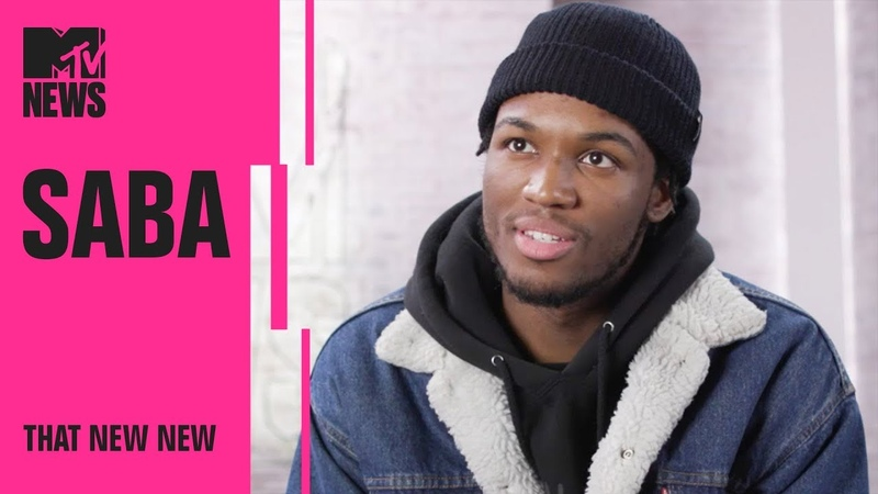 Saba on Chance the Rapper, Pivot Gang His New Album 'Care For Me' | THAT NEW NEW | MTV News