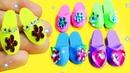 Zapatos para muñecas en miniatura - Barbie, Princessas de Disney y MH - Manualidades para muñecas