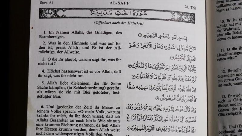 So schlecht paßt der Islam zu Deutschland eine Aufklärung in 10 Punkten