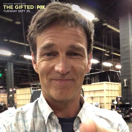 "The Gifted on Instagram: ""@smoyer goes BehindTheScenes to tell us just how excited he is for the epic Season 2 premiere of TheGifted. 🔥"""
