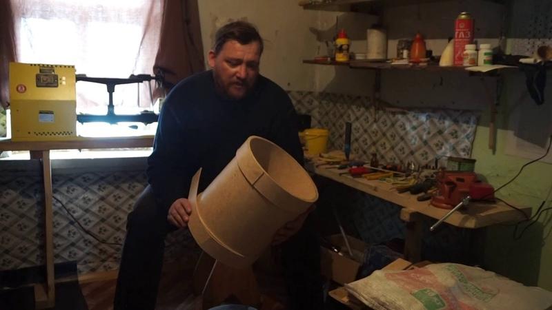 Как сделать барабан для народного ансамбля!!Супер дешевый вариант!
