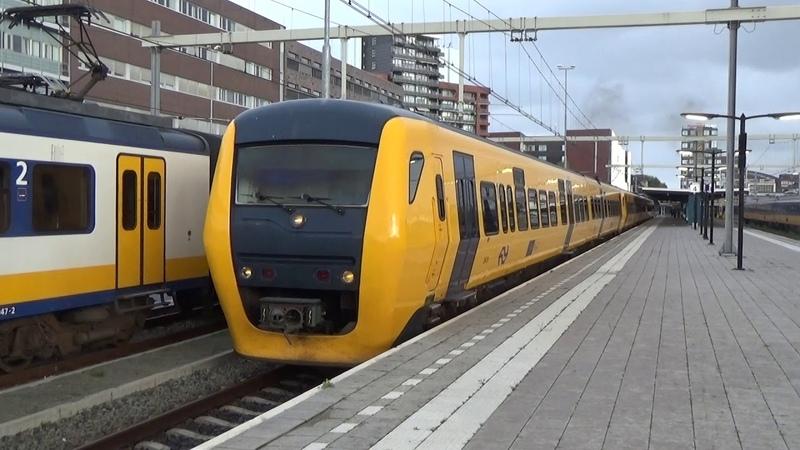 Buffels 3429, 3443 3433 vertrekken in Enschede