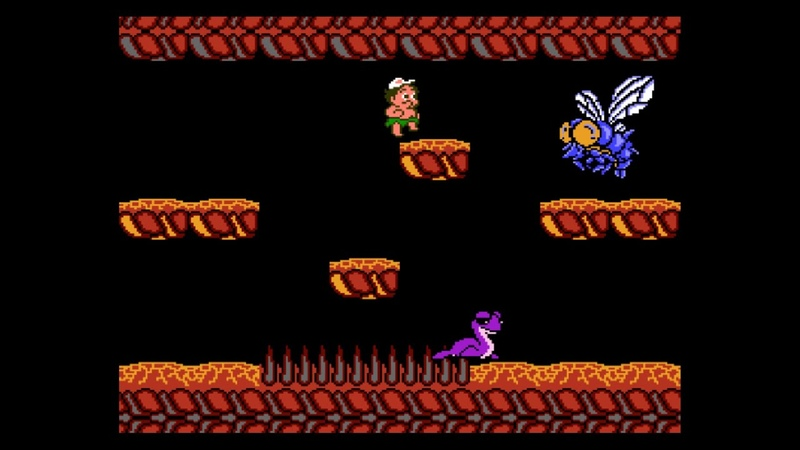 Adventure Island 2 NES All Boss Fights