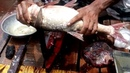Fish Cutting | Very Fastest Easily Big Silver Carp Fish Slice into Pieces in a Fish Market.