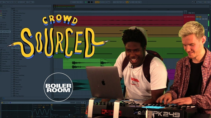 Sh?m MoreNight make beats with sounds you send in | Boiler Room 'Crowdsourced'