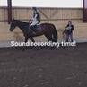 Some footage from our sound recording session. We recorded a bunch of audio when riding. Different gaits,