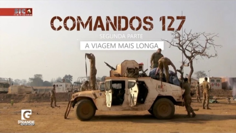 Comandos 127 - A Viagem Mais Longa - 2ª Parte