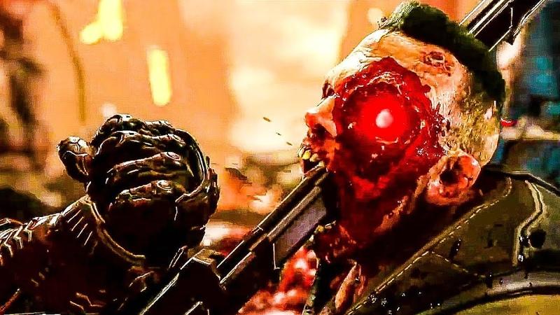 Игра DOOM: ETERNAL - Геймплейный трейлер   В Рейтинге