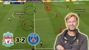 Klopp's Excellent Pressing Game Against PSG Liverpool vs PSG 3 2 Tactical Analysis