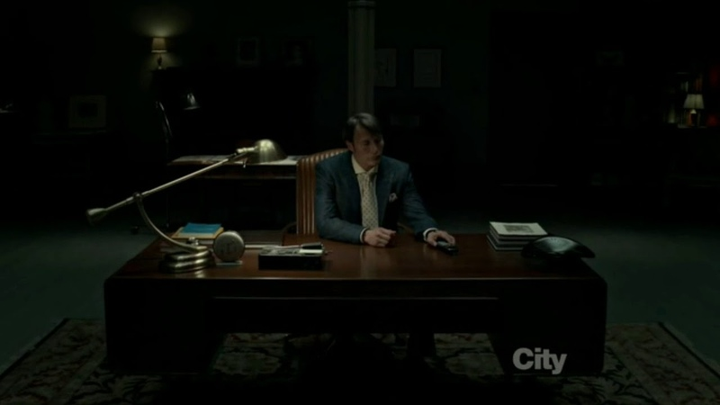Hannigram 1x07 Hannibal is Lonely as Will Misses his Appointment