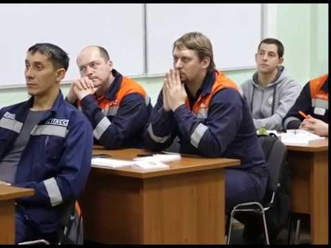 Занятие у добровольцев спасателей