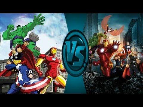 Какой мультсериал лучше?|Мстители могучие герои земли vs Мстители общий сбор