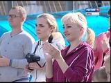 Спортивный праздник для семей ТОС Ленинского района на стадионе