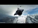 Surfing the Mountain POV -- Wingsuit Terrain Flying