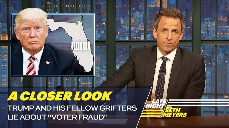 Trump and His Fellow Grifters Lie About Voter Fraud: A Closer Look