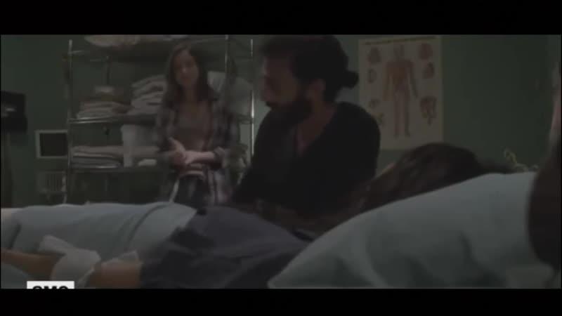 Ходячие мертвецы 9 сезон 8 серия - Уроки Подката от Генри - Вырезанная Сцена на