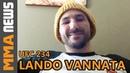 UFC 234's Lando Vannata Talks New Contract Split From Jackson Wink Call of Duty