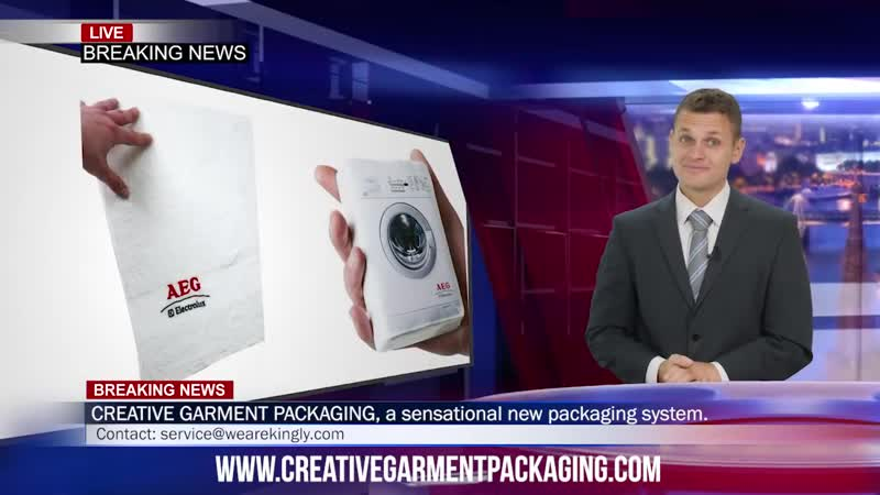 Kingly CREATIVE GARMENT PACKAGING!