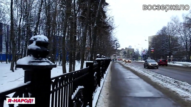 Воскресенск В парке «заговорили» деревья 15 декабря 2018 года