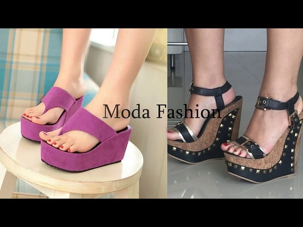 Latest footwear summer collection ladies footwear stylish and comfortable sandles shoes designs