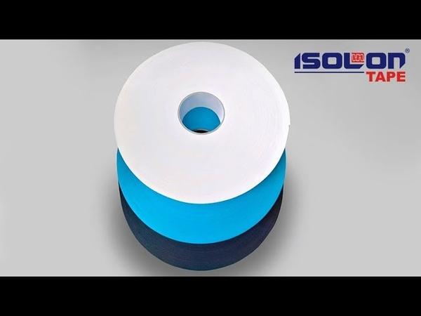 Isolontape - одно и двусторонние уплотнительные ленты из ISOLON для тепло-шумо- и виброизоляции