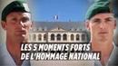 Hommage national les 5 moments forts de la cérémonie