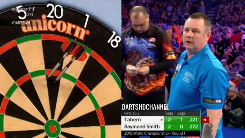 2019 PDC World Championship | Round 1 | Tabern v R Smith