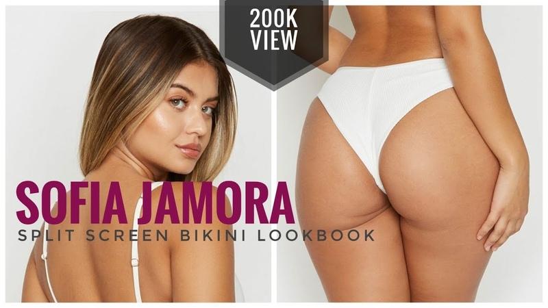 Sofia Jamora   Bikini LookBook   Dual Screen