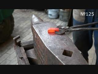 Making forged knife in V.V.K. style №125. Part 1