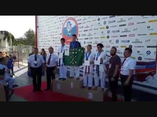 Наш чемпион Меркулов Матвей! 22 сентября 2018года.
