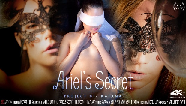 WOW Ariel's Secret: Project 01 - Katana # 1