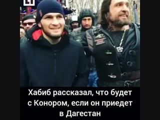 А вы бы хотели видеть Конора в Дагестане?