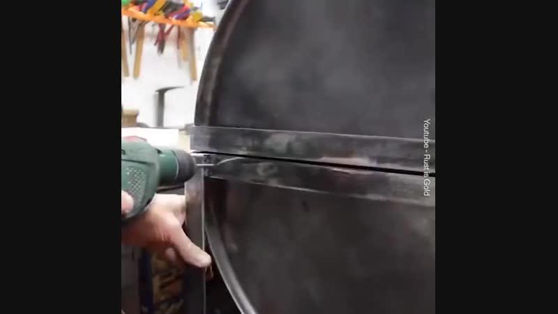 Как построить из бочки шашлычницу rfr gjcnhjbnm bp ,jxrb ifiksxybwe