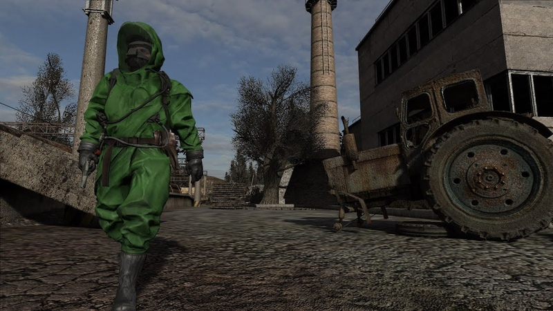 S.T.A.L.K.E.R Call of Chernobyl два библиотекаря окучивают старосту фаната