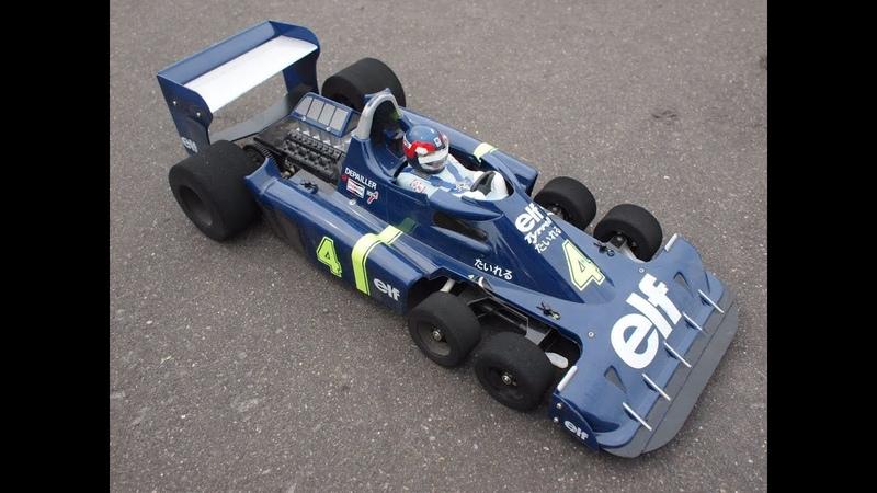 1977 Monaco GP Patrick Depailler Tyrrell Ford P34