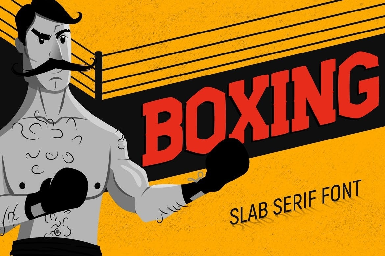 Шрифт - Boxing